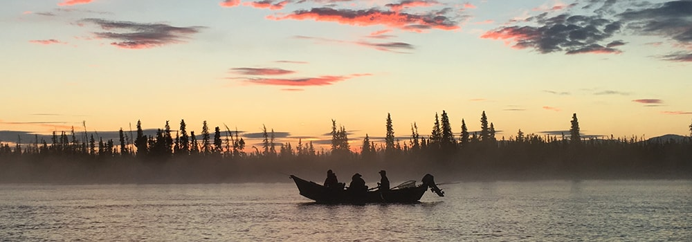 Skilak-Drift-Boat-Sunrise
